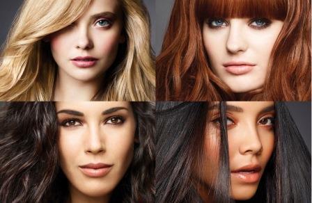лица девушек