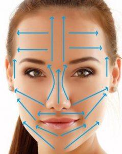 линии на лице