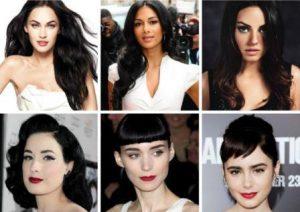 темноволосые женщины