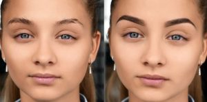 до и после покраски