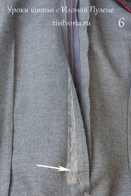 Как вшить потайную молнию в юбку | Блог Илоны Пузене