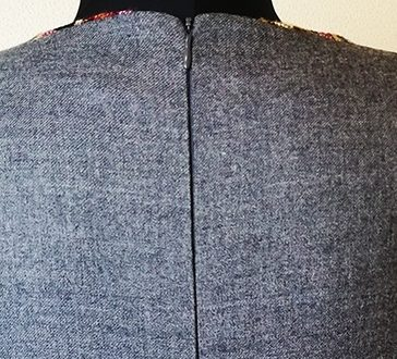 Как вшить потайную молнию в платье 01 | Блог Илоны Пузене