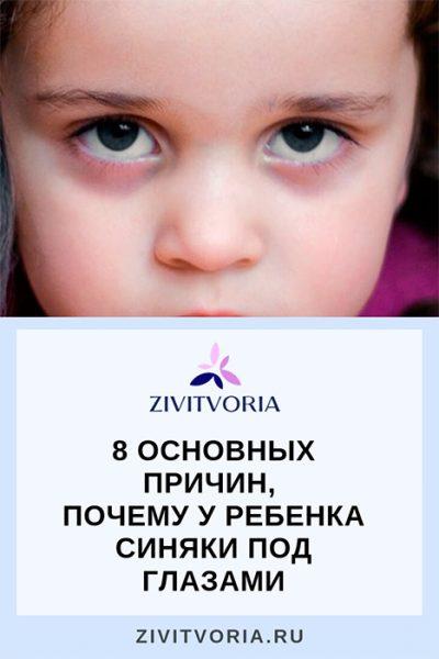 Почему у ребенка синяки под глазами | Проект Илоны Пузене