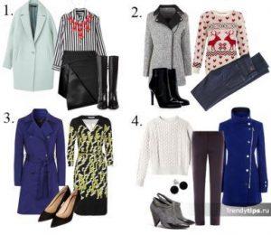 одежда для цветотипа зима