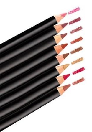 разного цвета карандаши для губ