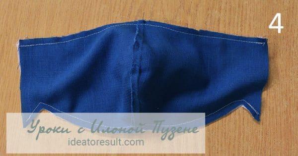 Шьем медицинскую маску из ткани | Уроки шитья с Илоной Пузене