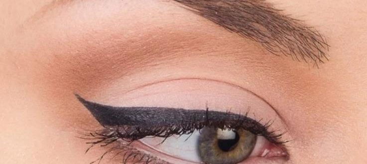 Классическая стрелка для глаз