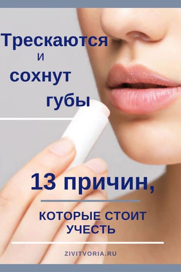 Почему сохнут губы | авторский проект Илоны Пузене