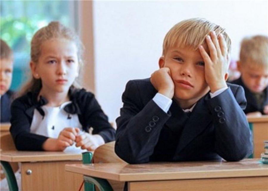 Стресс у учеников в школе