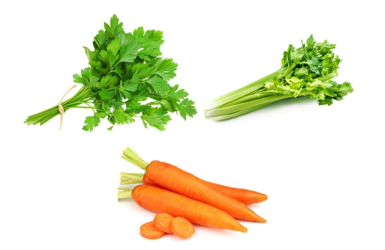 Петрушка, сельдерей, морковь от токсинов | журнал ZiviTvoria